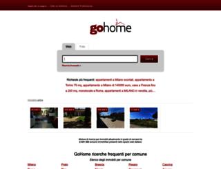 gohome.it screenshot