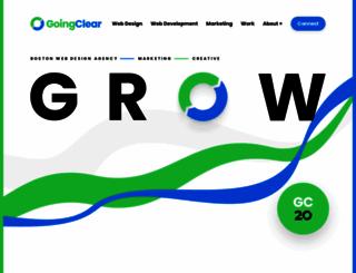 goingclear.com screenshot