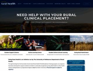 goingruralhealth.com.au screenshot