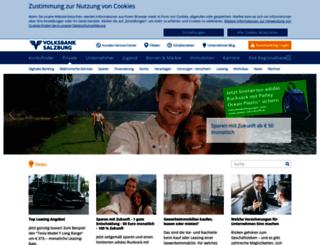 goisern.volksbank.at screenshot