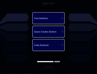 gojsf.com screenshot