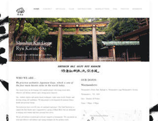 goju.com.au screenshot