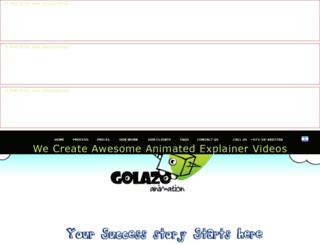 golazoanimation.com screenshot