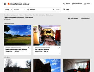 golczewo.nieruchomosci-online.pl screenshot