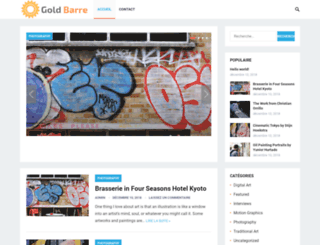 gold-barre.com screenshot