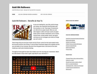gold-ira-rollovers.org screenshot