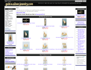 gold-n-silver-jewelry.com screenshot