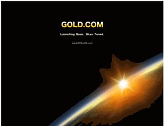 gold.com screenshot