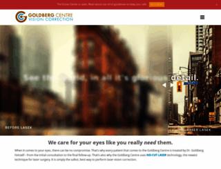 goldbergcentre.com screenshot