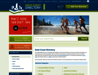 goldcoastdirectory.com screenshot