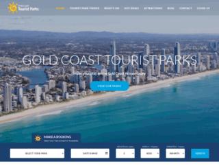 goldcoasttouristparks.com.au screenshot