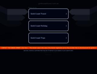 goldcoasttravel.com.au screenshot