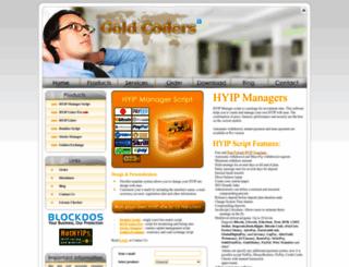 goldcoders.com screenshot