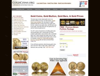 goldcoins.org screenshot