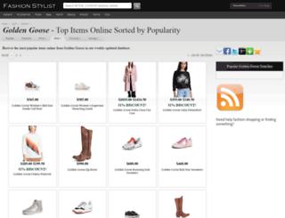 golden-goose.fashionstylist.com screenshot