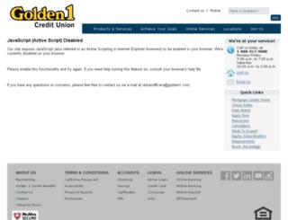 golden1.mortgagewebcenter.com screenshot