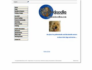 goldendoodles.com screenshot