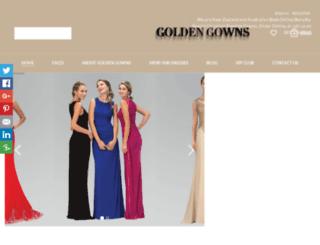 goldengowns.co.nz screenshot