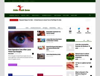 goldenhealthreview.com screenshot