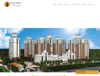 goldenhomeschennai.com screenshot