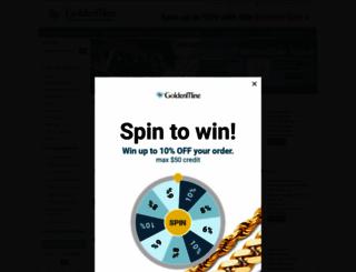 goldenmine.com screenshot