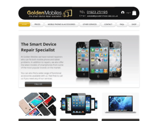 goldenmobiles.co.uk screenshot