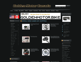 goldenmotor.ca screenshot