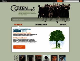 goldenmp3.ru screenshot