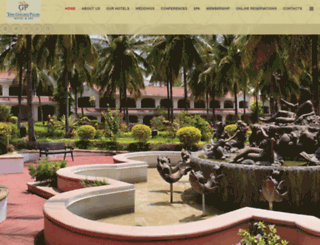 goldenpalmshotel.com screenshot