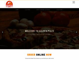 goldenpizza.net screenshot