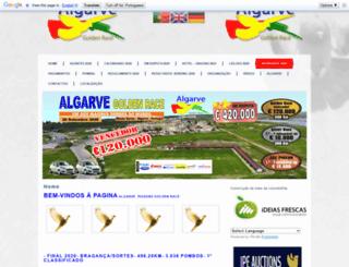goldenracealgarve.com screenshot