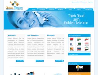 goldentelecom.com.sg screenshot