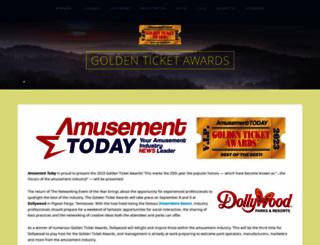 goldenticketawards.com screenshot