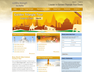 goldentriangleinindia.com screenshot