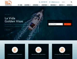 goldenvisas.com screenshot