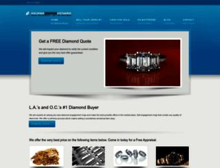 goldmandiamondexchange.com screenshot