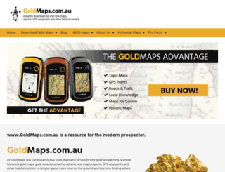 goldmaps.com.au screenshot