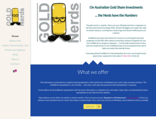 goldnerds.com screenshot