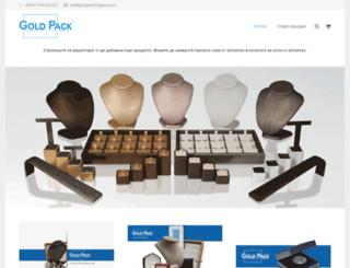 goldpack-bulgaria.com screenshot