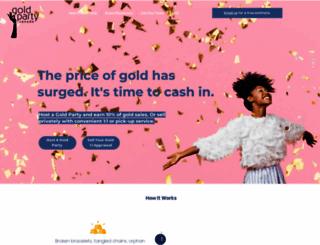 goldpartycanada.com screenshot