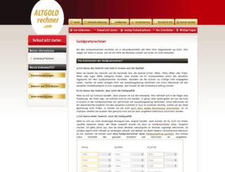 goldpreisrechner.com screenshot