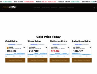 goldprice.com screenshot