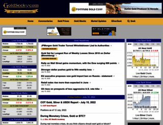 goldseek.com screenshot
