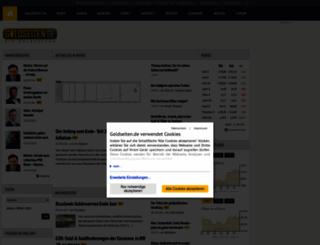 goldseiten.de screenshot