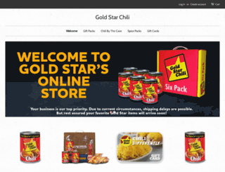 goldstarchili.myshopify.com screenshot