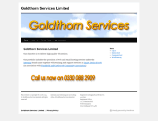 goldthorn.co.uk screenshot