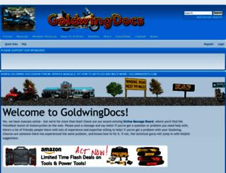 goldwingdocs.com screenshot
