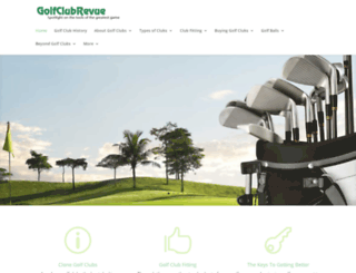 golf-club-revue.com screenshot