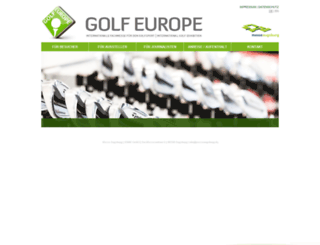golf-europe.com screenshot