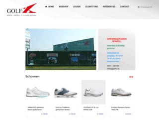 golf-x.nl screenshot